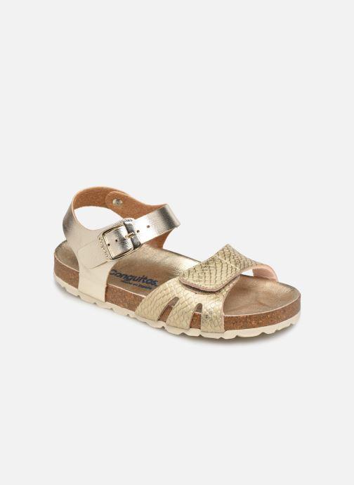 Sandales et nu-pieds Conguitos LV1 285 82 Or et bronze vue détail/paire