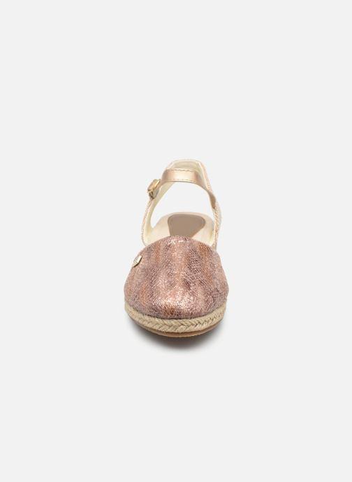 Espadrilles Conguitos LV5 554 04 Beige vue portées chaussures