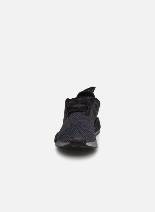 Sneaker adidas originals Nmd_R1 J schwarz schuhe getragen