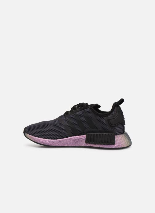 Sneaker adidas originals Nmd_R1 J schwarz ansicht von vorne