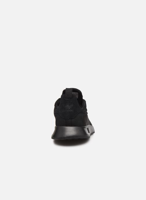 Sneaker adidas originals X_Plr S schwarz ansicht von rechts