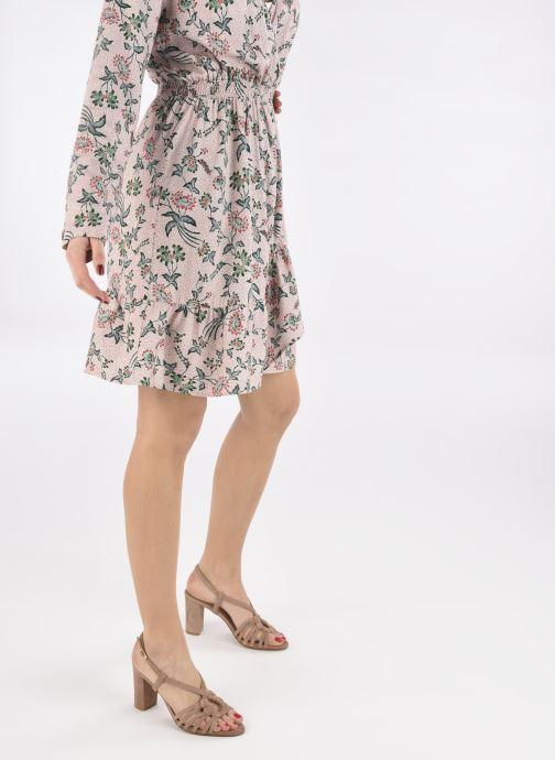 Sandalen Georgia Rose Tamys rosa ansicht von unten / tasche getragen