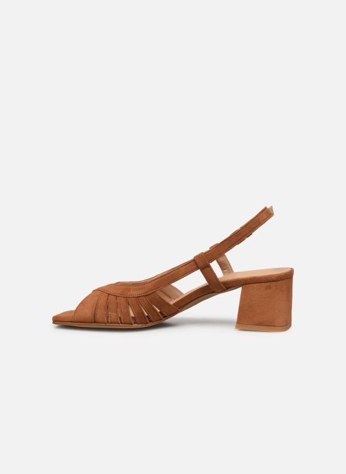 Sandalen Georgia Rose Toline braun ansicht von vorne