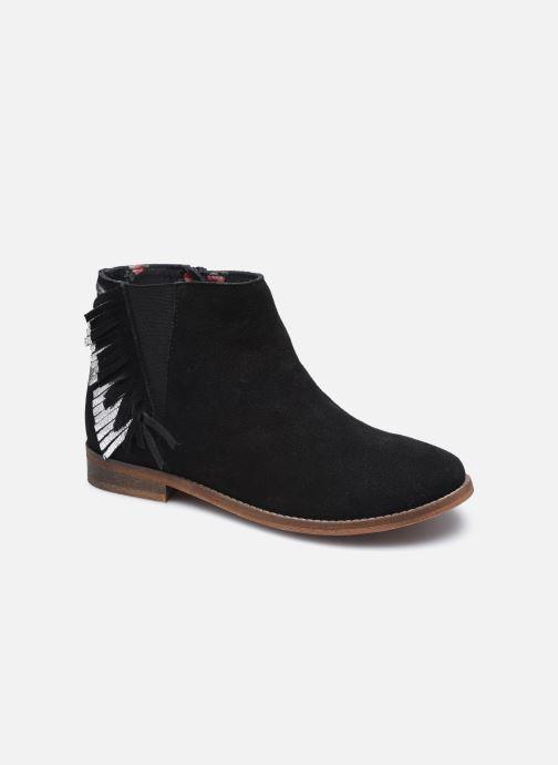 Stiefeletten & Boots Pepe jeans Nelly Fringes schwarz detaillierte ansicht/modell