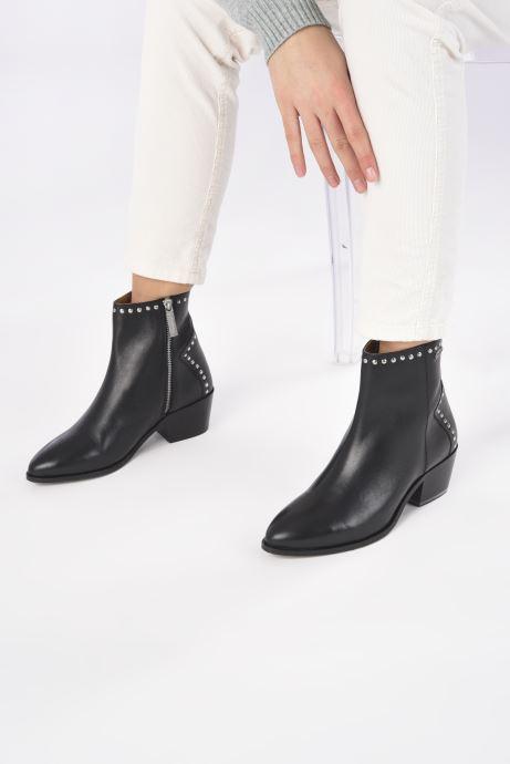 Bottines et boots Pepe jeans Lola Studs Noir vue bas / vue portée sac