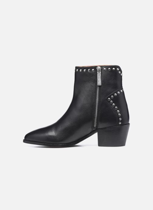 Bottines et boots Pepe jeans Lola Studs Noir vue face