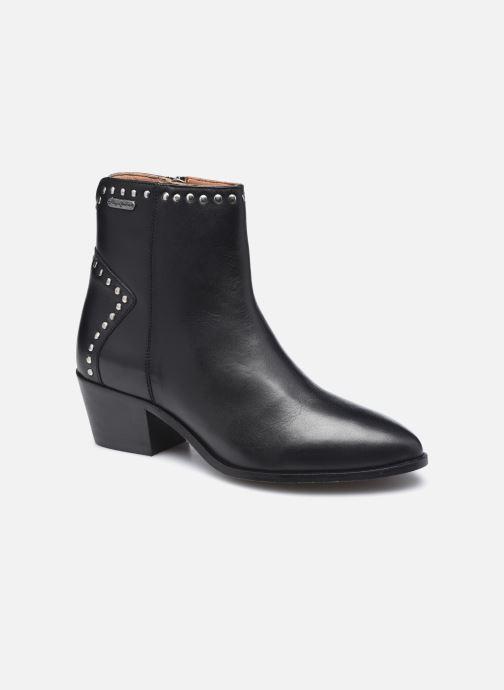 Bottines et boots Pepe jeans Lola Studs Noir vue détail/paire