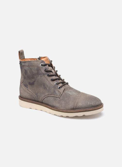 Ankelstøvler Pepe jeans Barley Boot Camu Grøn detaljeret billede af skoene