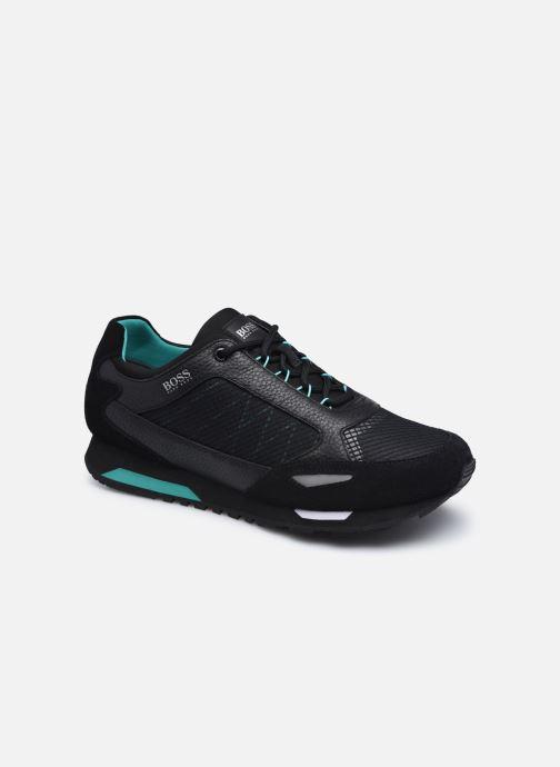 Sneaker BOSS Parkour runn net2 10214599 01 schwarz detaillierte ansicht/modell