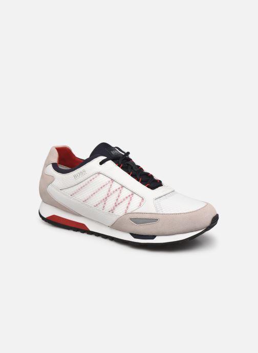 Sneaker BOSS Parkour runn net2 10214599 01 weiß detaillierte ansicht/modell