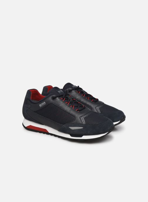 Sneaker BOSS Parkour runn net2 10214599 01 blau 3 von 4 ansichten