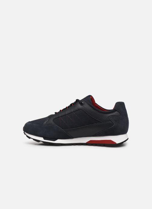 Sneaker BOSS Parkour runn net2 10214599 01 blau ansicht von vorne