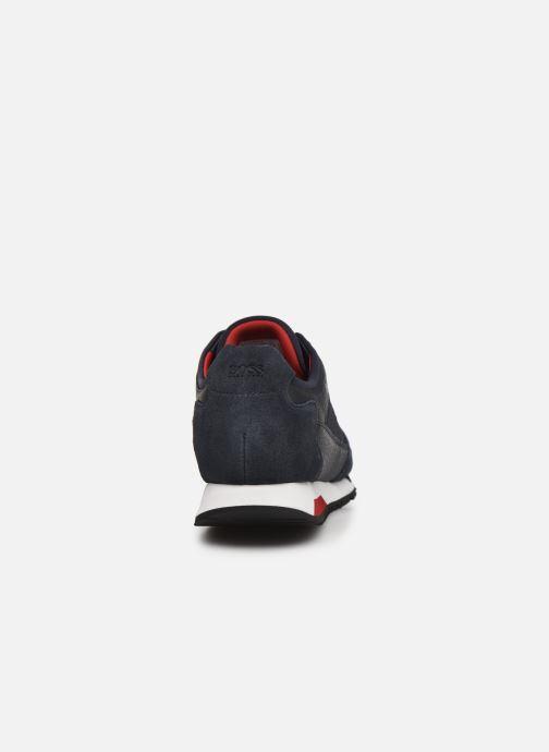 Sneaker BOSS Parkour runn net2 10214599 01 blau ansicht von rechts