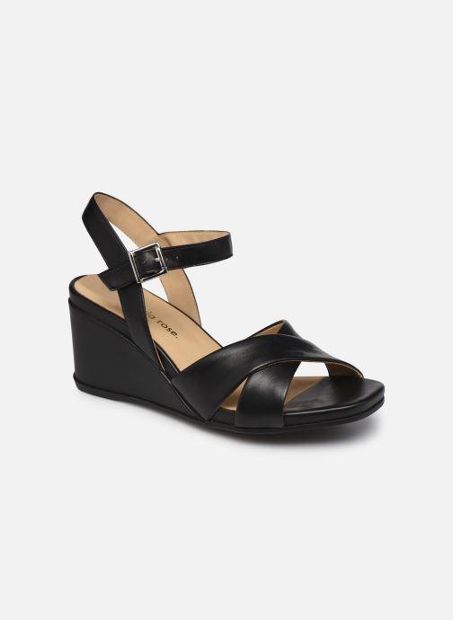 Sandales et nu-pieds Georgia Rose Soft Weve Noir vue détail/paire