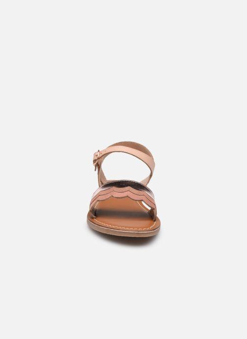 Sandales et nu-pieds L'Atelier Tropézien IL 912 Rose vue portées chaussures