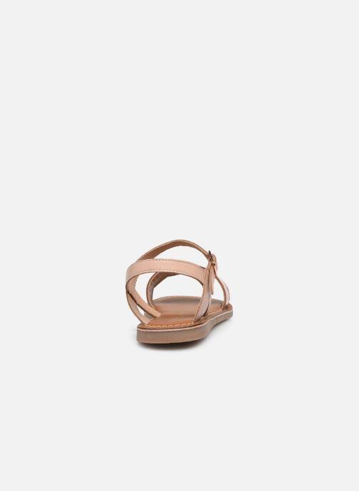 Sandales et nu-pieds L'Atelier Tropézien IL 912 Rose vue droite