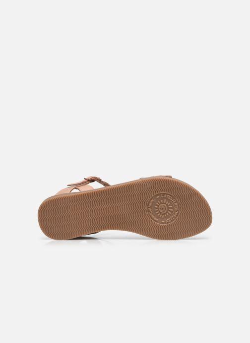 Sandales et nu-pieds L'Atelier Tropézien IL 912 Rose vue haut