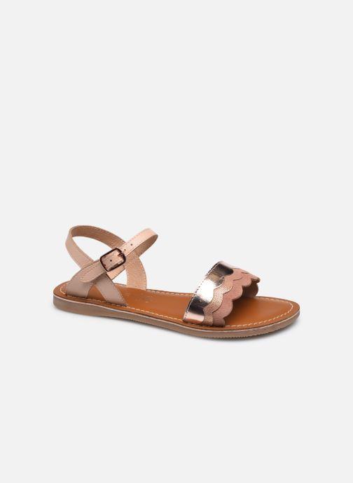 Sandales et nu-pieds L'Atelier Tropézien IL 912 Rose vue détail/paire
