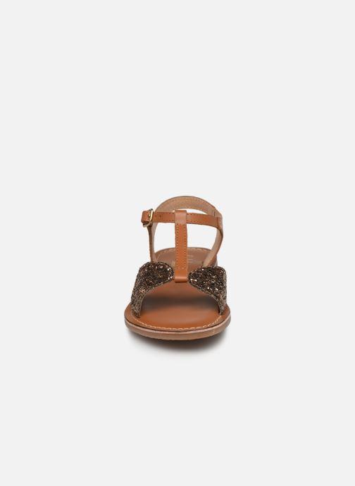 Sandalen L'Atelier Tropézien SH 700 braun schuhe getragen