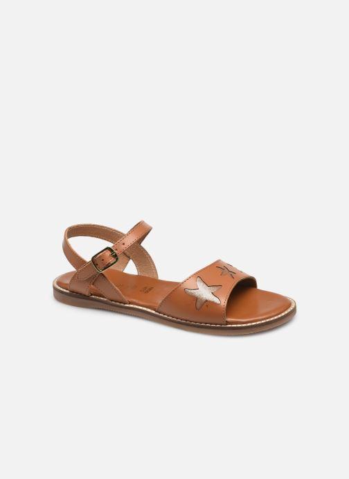 Sandales et nu-pieds L'Atelier Tropézien IL 902 Marron vue détail/paire