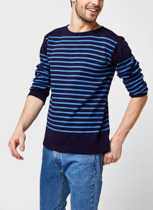 "T-shirt manches longues - Marinière ""Amiral"" H"
