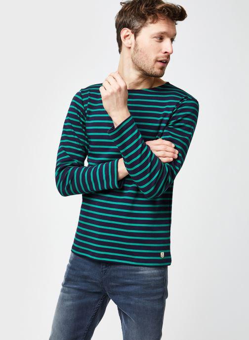 """Vêtements Armor Lux Marinière """"Houat"""" Héritage Homme New Bleu vue droite"""