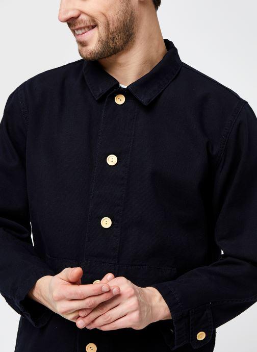 Vêtements Armor Lux Veste Pecheur Héritage Homme New Bleu vue face