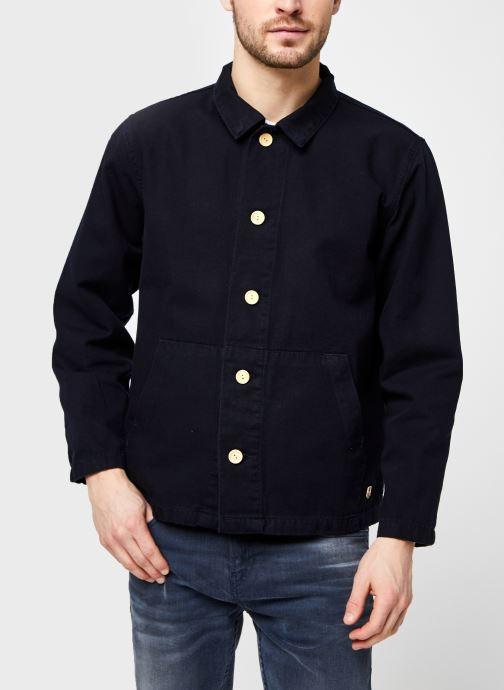Vêtements Armor Lux Veste Pecheur Héritage Homme New Bleu vue droite