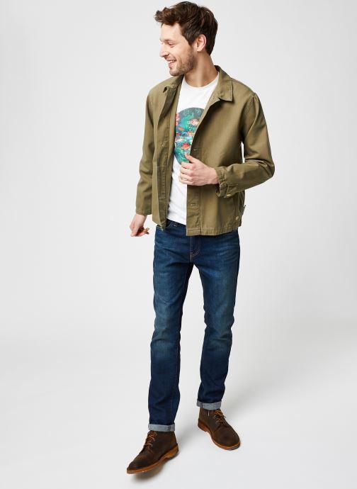 Vêtements Armor Lux Veste Pecheur Héritage Homme New Vert vue bas / vue portée sac