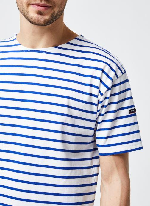 """Vêtements Armor Lux Marinière """"Théviec"""" Homme New Bleu vue face"""