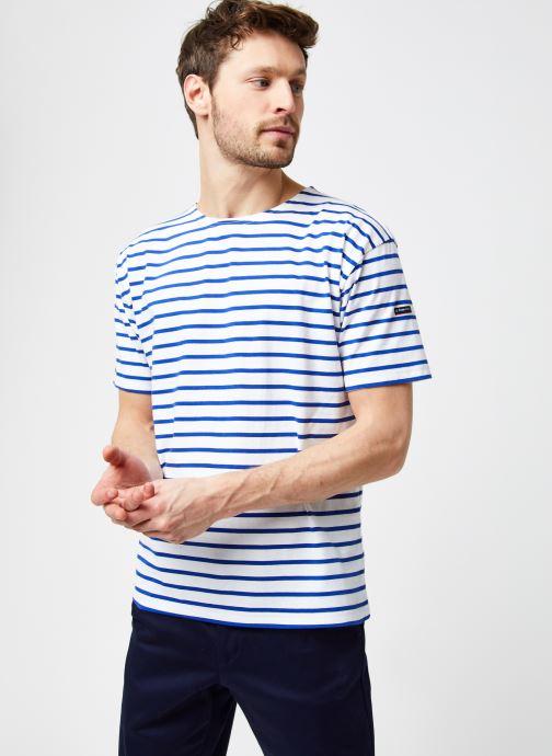 """Vêtements Armor Lux Marinière """"Théviec"""" Homme New Bleu vue droite"""
