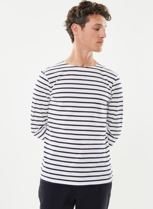 """Vêtements Armor Lux Marinière """"Plozévet"""" Homme New Bleu vue détail/paire"""