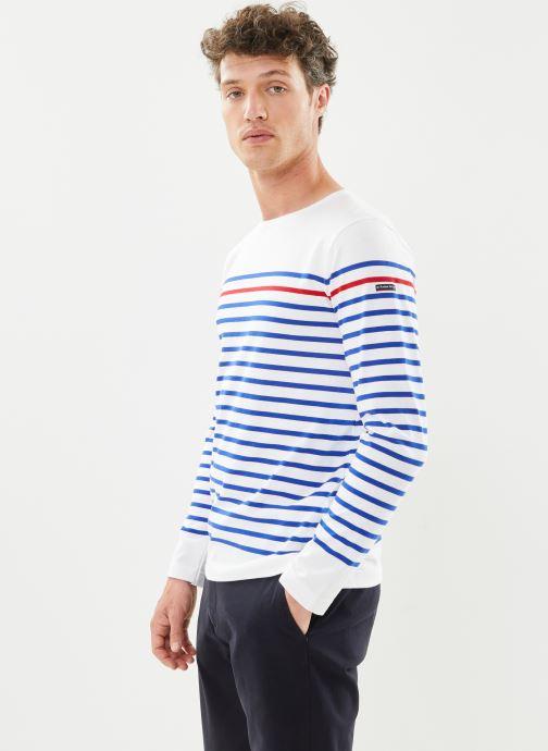 """T-shirt manches longues - Marinière """"Rempart"""" H"""