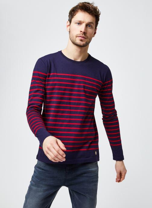 """T-shirt manches longues - Marinière """"Port-Louis"""" H"""