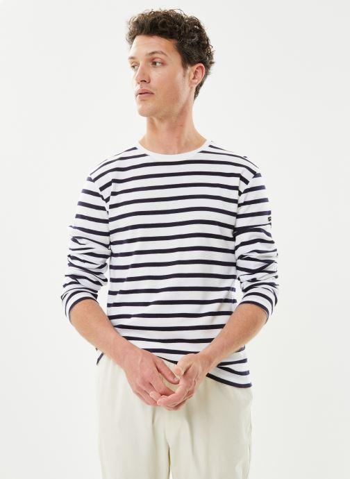 """T-shirt manches longues - Marinière """"Crozon"""" Homme"""