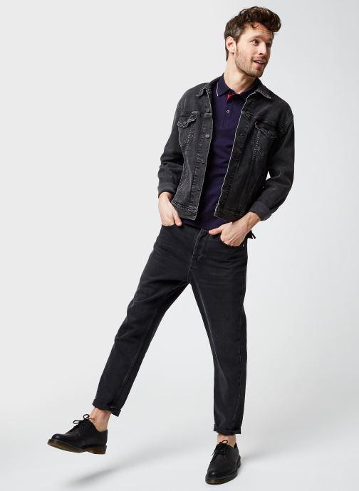 Vêtements Armor Lux Polo Mc Homme New Bleu vue bas / vue portée sac