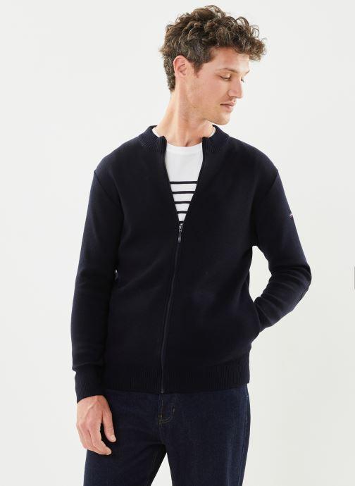 """Vêtements Armor Lux Cardigan """"Erdeven"""" Homme New Bleu vue détail/paire"""