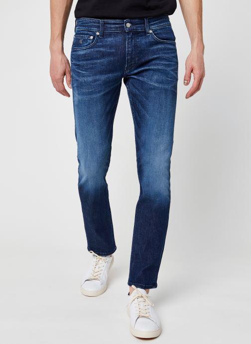 Vêtements Calvin Klein Jeans Slim Bleu vue détail/paire