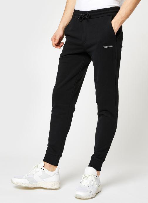 Kleding Calvin Klein Small Logo Sweatpant Zwart detail