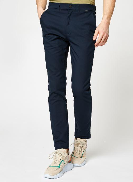 Vêtements Calvin Klein Tech Stretch Slim Fit Chino Bleu vue détail/paire