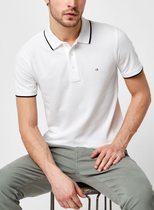 Polo - Stretch Tipping Slim Polo