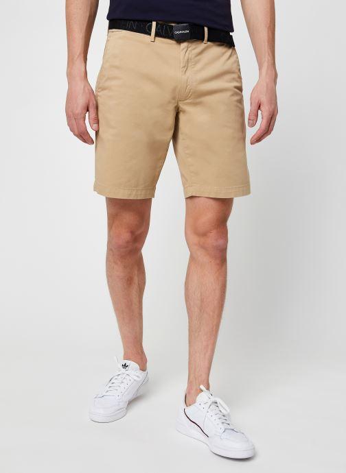 Vêtements Accessoires Garment Dye Belted Shorts
