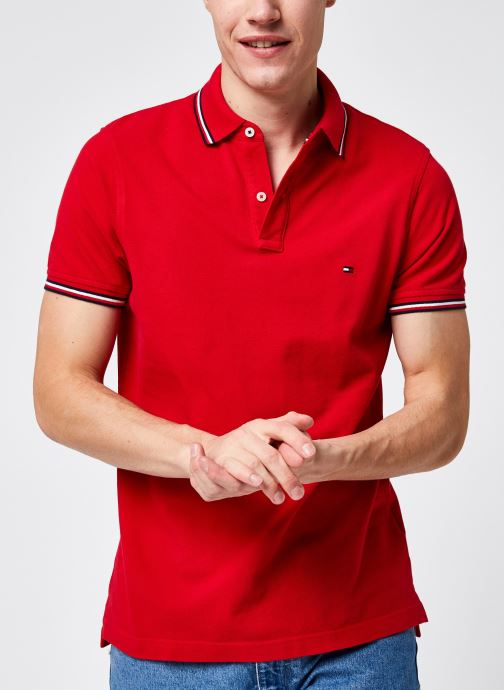 Kleding Accessoires Tommy Tipped Slim Polo