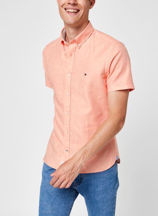Vêtements Accessoires Slim Coton/Lin Twill Shirt S/S