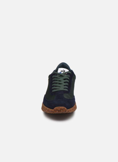 Sneakers Le Coq Sportif Veloce Verde modello indossato