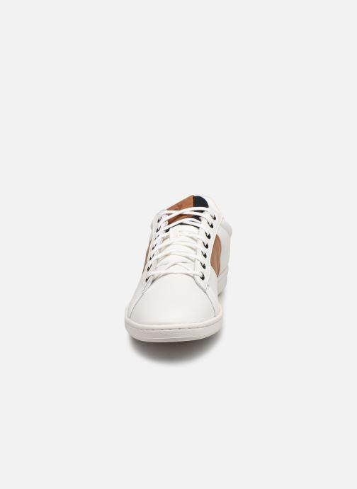 Sneakers Le Coq Sportif Master Court Waxy Bianco modello indossato