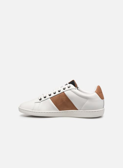 Sneakers Le Coq Sportif Master Court Waxy Bianco immagine frontale