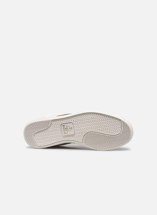 Sneakers Le Coq Sportif Master Court Waxy Bianco immagine dall'alto
