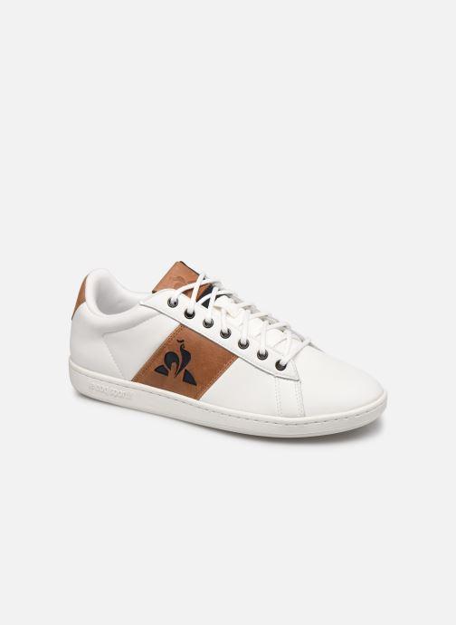 Sneakers Le Coq Sportif Master Court Waxy Bianco vedi dettaglio/paio
