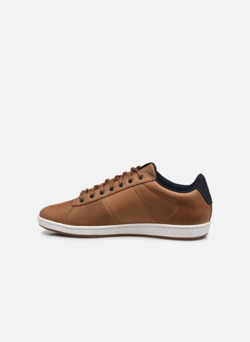 Sneakers Le Coq Sportif Master Court Waxy Beige immagine frontale